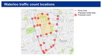 Quick Waterloo Traffic Study!