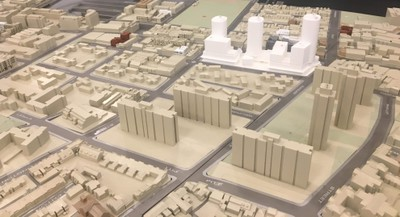 Waterloo Metro Quarter model