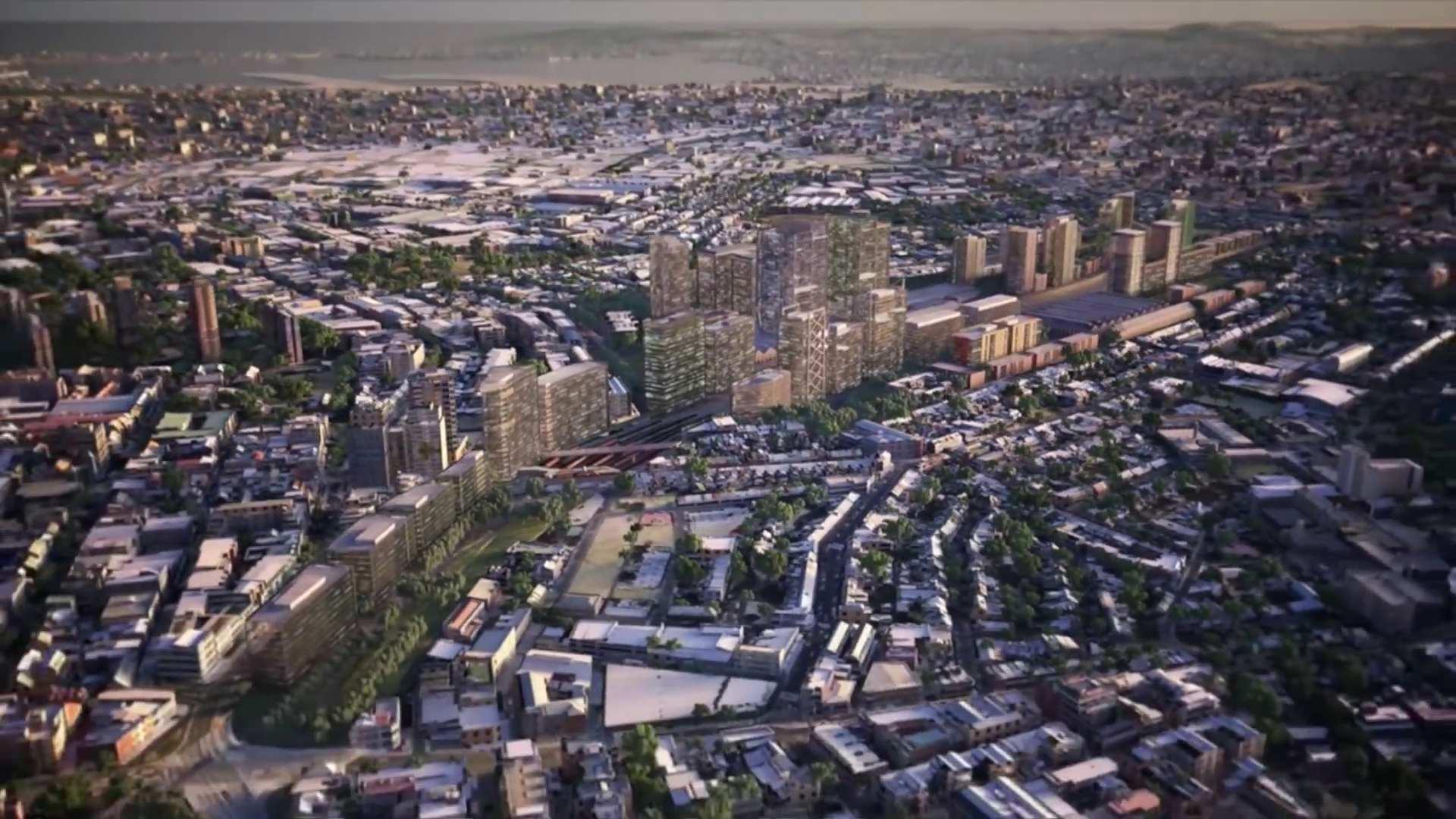 Indicative Development Lawson St to Cleveland Street