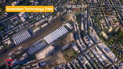 C2E Australian Technology Park - Before Indicative Development - July 2014