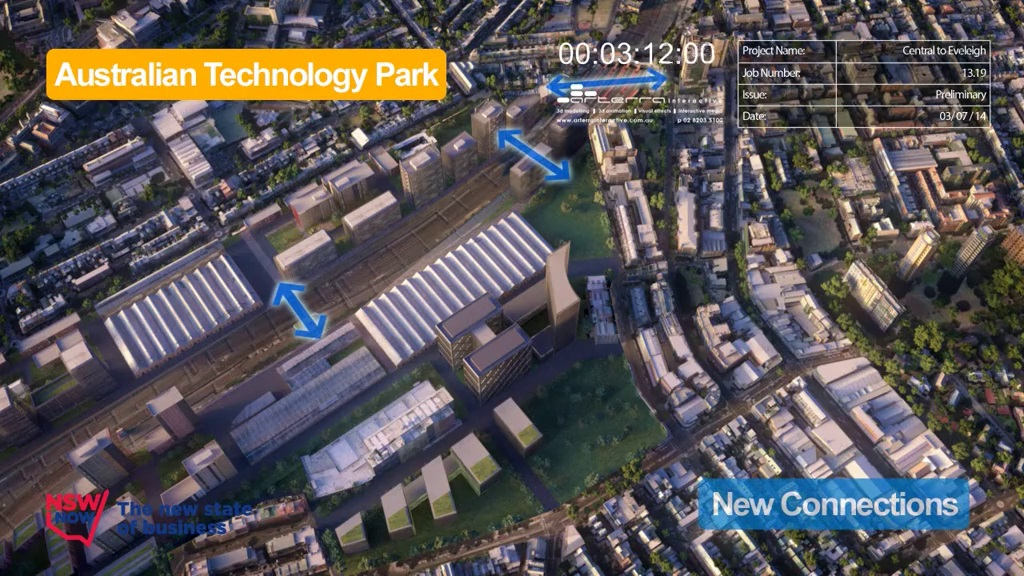 C2E Australian Technology Park - After Indicative Development - July 2014