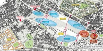 Eveleigh Map of Central to Eveleigh Proposal