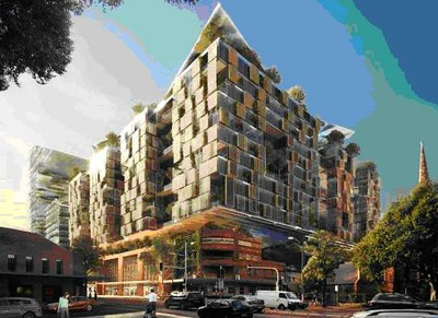 Fraser's Broadway Concept Plan from Wattle and Broadway