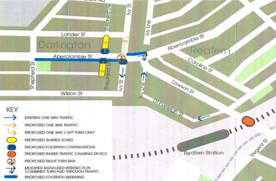 Proposed Abercrombie St Changes 2013